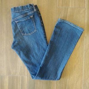 Old Navy Girls Sz 16 Bootcut Jeans MW EUC